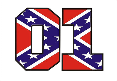 Decal 01 Red Confederate