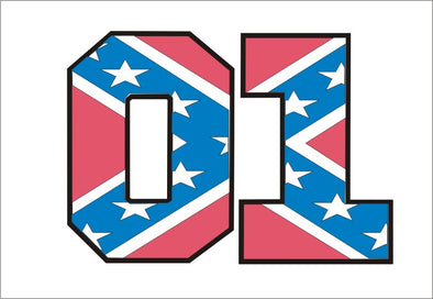 Decal 01 pink Confederate