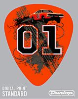 Guitar Pick 01 With General Lee