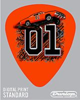 Guitar Pick General Lee Jumping 01