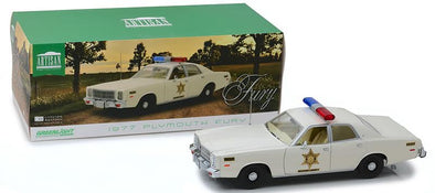 1/18 Hazzard County Sheriff Car Artisan Collection - 1977 Plymouth Fury (Pre-Orders)