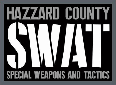 Hazzard County SWAT Patch Velcro