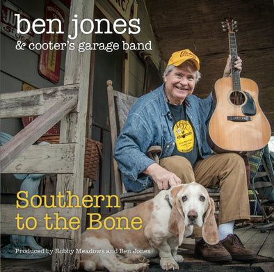 "Autographed Ben Jones CD ""SOUTHERN TO THE BONE"""
