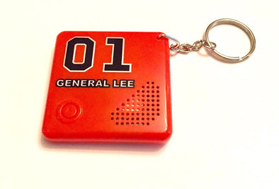 Musical Keychain W/Dixie Horn Orange 01