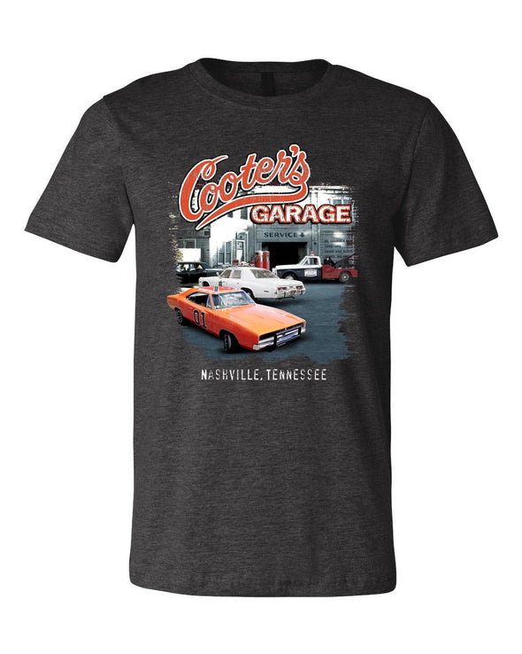 Cooter's Garage Multi Car T-Shirt