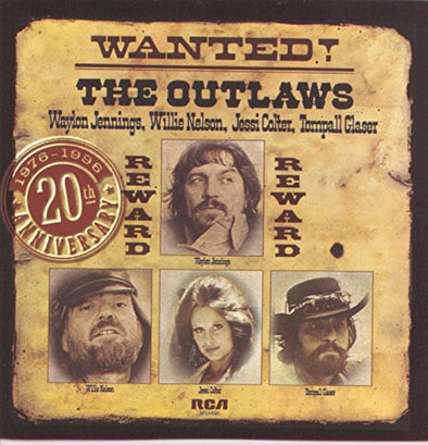 Waylon Jennings Wanted! The Outlaws 1976-1996 20th Anniversary CD
