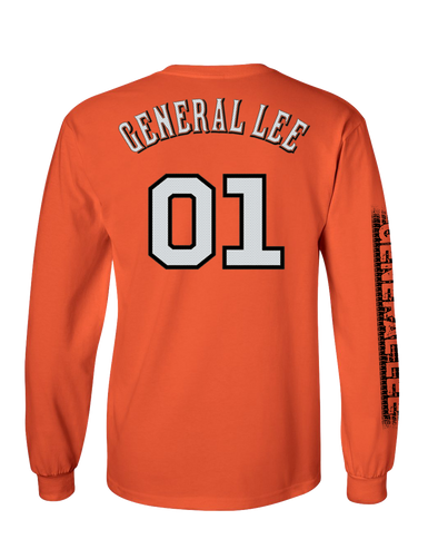 Youth Cooter's General Lee 01 Long Sleeve T-Shirt