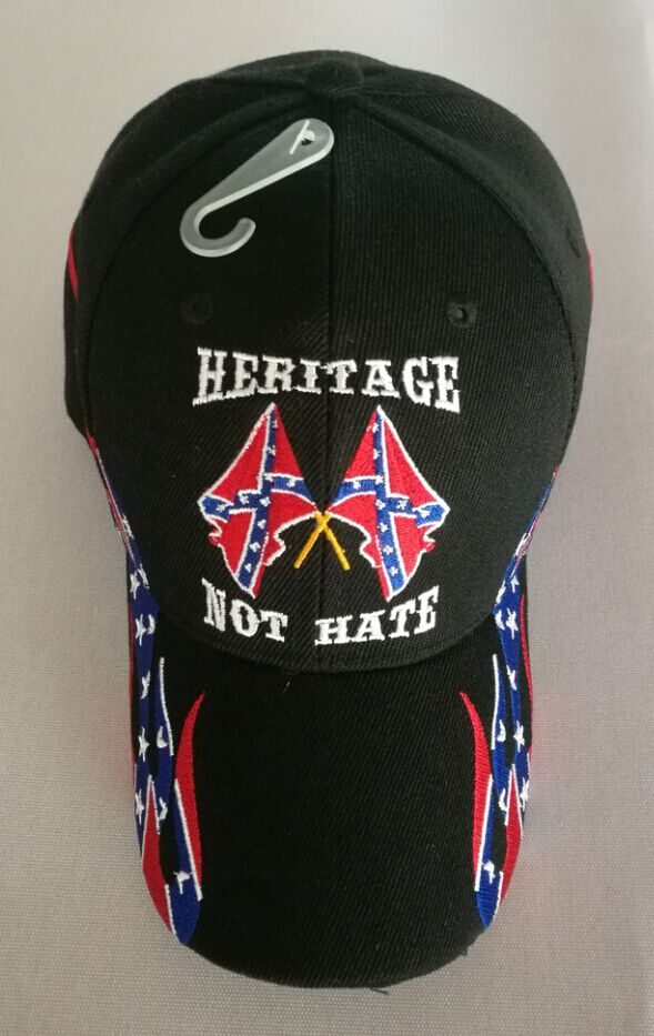 Heritage Not Hate Confederate Emb. Hat