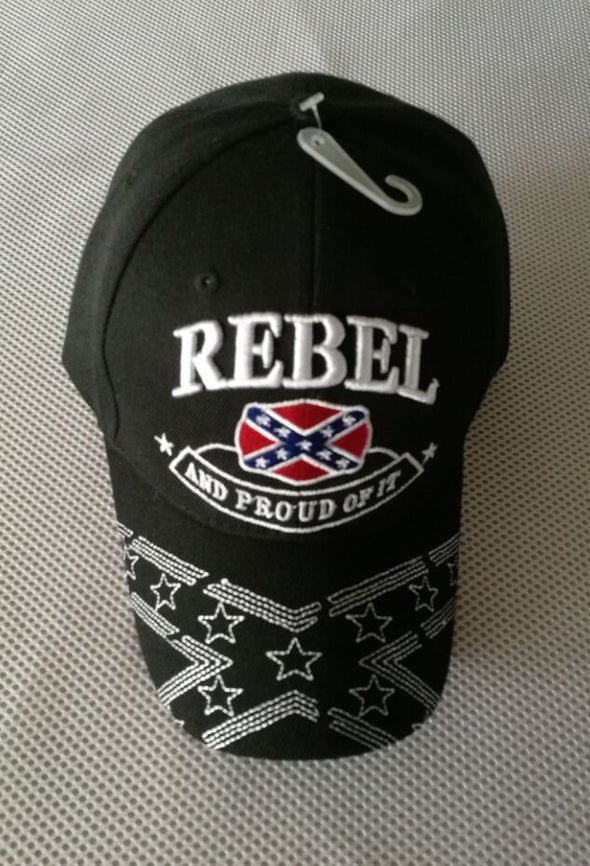 Rebel & Proud Of It Emb Hat