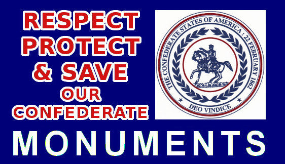 Sticker Save Our Confederate Monuments