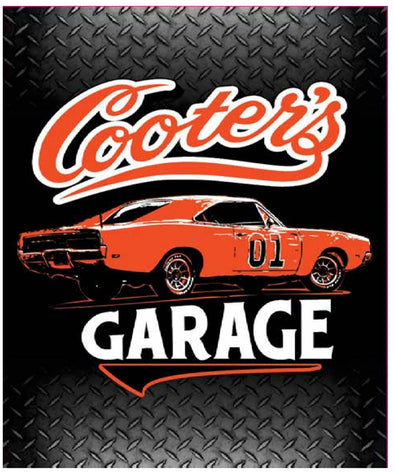 Fleece Blanket Cooter's Garage Classic
