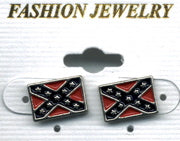 CONFEDERATE POST EARRINGS