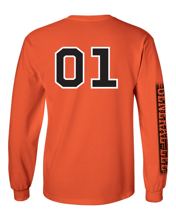 Youth Cooter's Orange 01 Long Sleeve T-Shirt