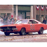 Autographed by Ben Jones General Lee Photo (8x10)