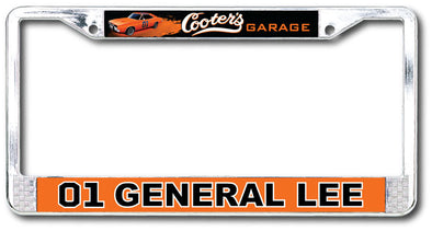 License Plate Cover Cooter's 01 / General Lee