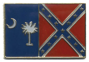South Carolina Rebel Hat Pin