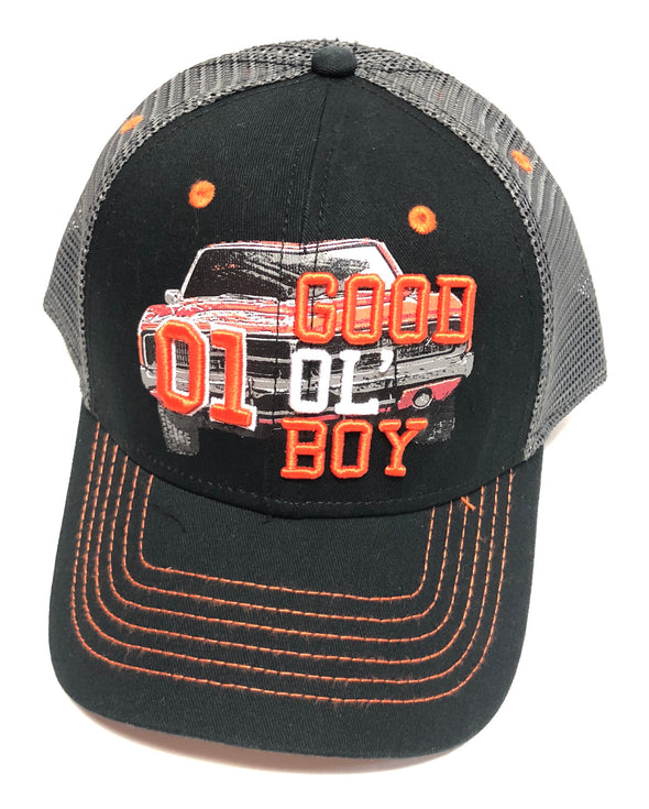 Cooter's General Lee GOB Trucker Hat Black