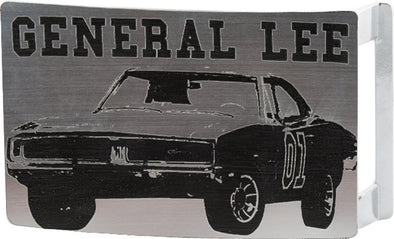 Brushed General Lee Belt Buckle