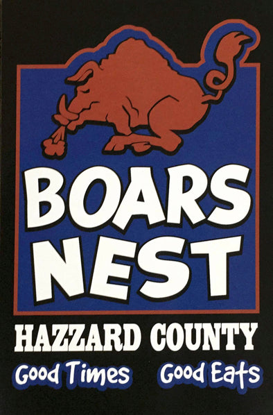 Postcard Boars Nest