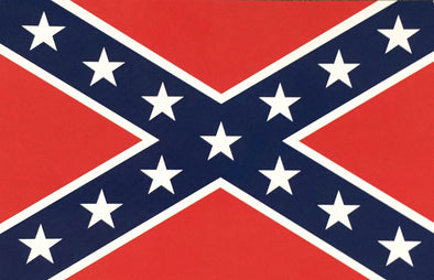 Postcard Confederate Flag