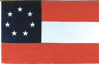 1ST Confederate Battle FLAG POLYESTER