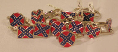 CONFEDERATE PINKY RING