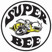 Dodge Super Bee Round Metal Sign