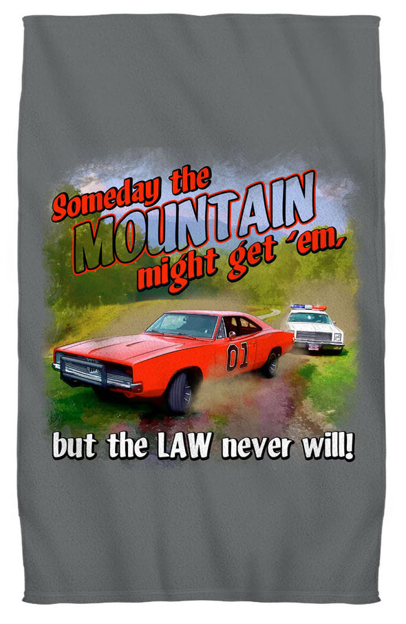 "Cooter's ""Mountain Might Get'em"" Beach Towel"