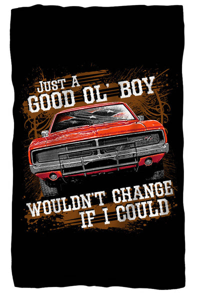 "Cooter's ""Good Ol' Boy, Would Change If I Could"" Premium Beach Towel"