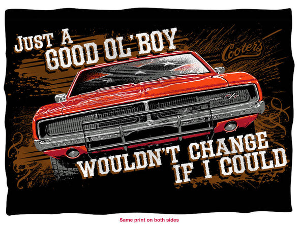 Cooter's Good Ol' Boy, Would Change If I Could Pillow Case