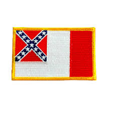 3rd Confederate Battle Flag Patch