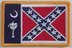 South Carolina Rebel Flag Patch