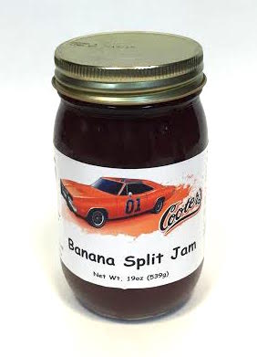 Sauces Cooter's Banana Split Jam