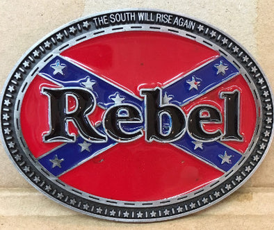 Rebel Confederate Belt Buckle