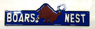 Boars Nest Street Sign (5 X 24)