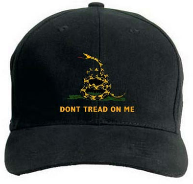 Gadsden Hat Don't Tread On Me Black