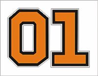 Decal 01 Orange