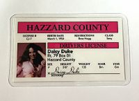 """Daisy Duke"" Novelty Driver License"