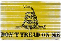 Don't Tread On Me Corrugated Metal Sign (11.5 X 18)