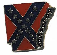 Arkansas Rebel Hat Pin