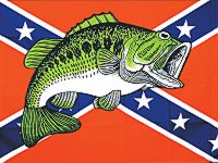Fish - 3'X5' Confederate Flag Polyester