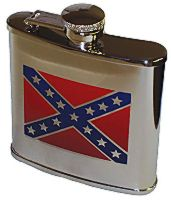 CONFEDERATE Flag Flask
