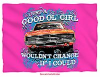 Cooter's Good Ol' Girl, Would Change If I Could Pillow Case