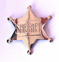 Sheriff Badge (Novelty)
