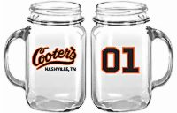 Mini Cooter's Garage 01 Mason Jar With Handle (Mini)