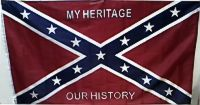 My Heritage Our History - 3'X5' Rebel Flag Confederate