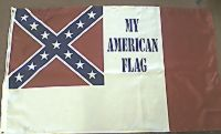 My American Flag  - 3'X5' Rebel Flag Polyester