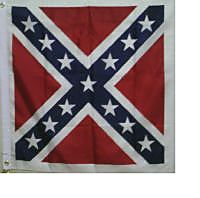 Confederate Battle Flag - Square POLYESTER
