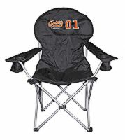 Cooter's Garage Black Oversized Folding Chair