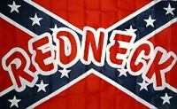 Redneck - 3'X5' Rebel Flag Confederate